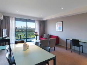 Two Bedroom Apartment with City Park View