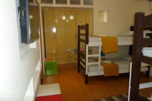 Bed in 8-Bed Mixed Dormitory Room with En suite Shared Bathroom