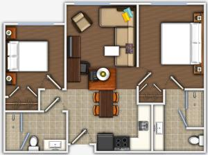 Two-Bedroom Suite