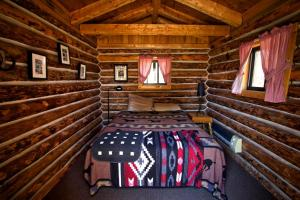 Cabin 1 # queen bed