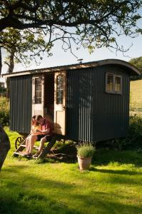 Shed and Breakfast in Bruton, Somerset, England