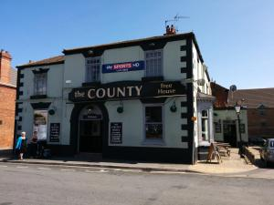 The County Hotel in Grimsby, Lincolnshire, England