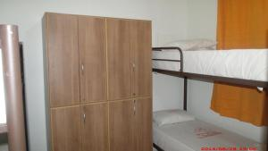 Bed in 4-Bed Male Dormitory Room with External Bathroom