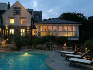 The Lamorna Cove Hotel in Mousehole, Cornwall, England