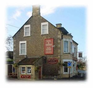 Lion and Fiddle in Trowbridge, Wiltshire, England
