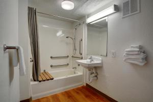 Standard Queen Room - Roll-in Shower - Disability Access