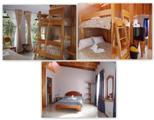 Family Room with One Double, Two Single and One Bunk Bed