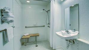 Double Room with Roll-In Shower - Disability Accessible