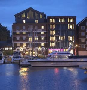 Salthouse Harbour Hotel in Ipswich, Suffolk, England