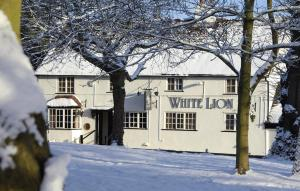 The White Lion Inn in Hampton in Arden, West Midlands, England