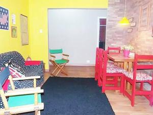 Colorful 3Bdr Apartment Copacabana R011