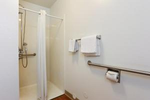 Queen Room with Roll-in Shower