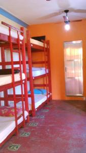 Bed in 12-Bed Dormitory Room with Internal Shared Bathroom