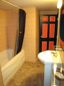 Family Room with Bathroom