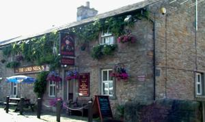 The Lord Nelson in Langho, Lancashire, England