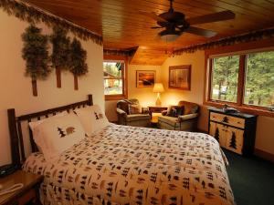 Log Home Room