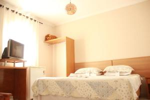 Double Bed in Dormitory Room