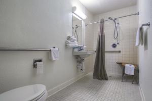 Double Room with 2 Double Beds - Disability Access with Roll-In Shower