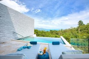 Shades of Blue - Modern Sea View Villa