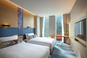 Aloft King or Twin Room with City View