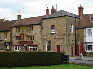 Plume of Feathers in Sherborne, Dorset, England