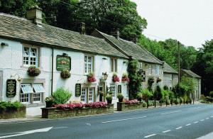 The Chequers Inn in Froggatt, Derbyshire, England