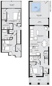 Three-Bedroom Townhouse