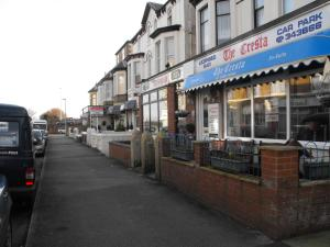 The Cresta Guest House in Blackpool, Lancashire, England