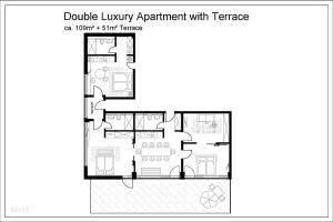Apartment with Terrace (8 adults)