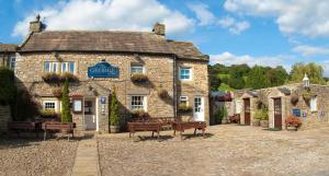 The George Inn in Aysgarth, North Yorkshire, England