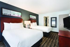 One-Bedroom Suite with Two Double Beds - Disability Access