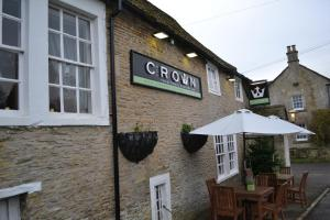 The Crown Inn at Giddeahall in Yatton Keynell, Wiltshire, England