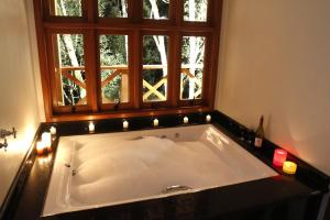 Chalet Master with hot tub