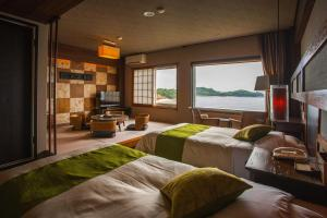 Shodoshima International Hotel, Ryokans  Tonosho - big - 49