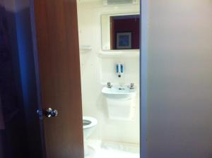 Quadruple Room with private toilet and shower