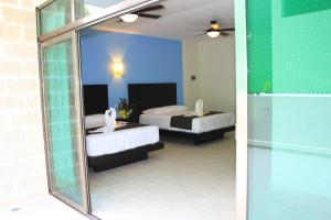 Deluxe Double Room with Two Double Beds