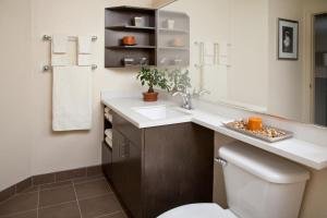 Queen Studio Suite - Disability Access Hearing Accessible Roll-in Shower