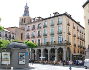 Plaza Mayor, 12, Segovia, Spain.