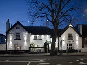The Old Hall Hotel in Frodsham, Cheshire, England