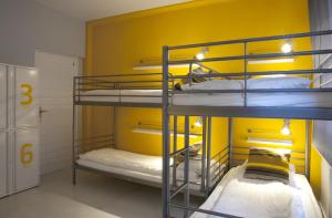 Bed in 6-Bed Mixed Dormitory Room with Shower