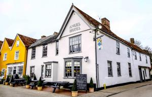 The Angel Hotel in Lavenham, Suffolk, England