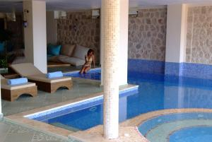 Likya Residence Hotel & Spa - Adults Only, Szállodák  Kalkan - big - 28