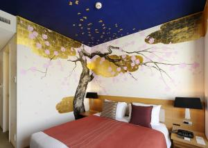 Artist Kamer met Queensize Bed