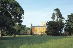 Langar Hall Hotel and Restaurant in Langar, Nottinghamshire, England