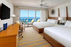 Premium Queen Room with Two Queen Beds and Balcony - Ocean Front