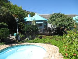 Cottage mit Pool und Gartenblick - Rose Cottage