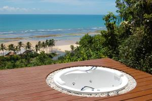 Deluxe Double Room with Frontal Sea View and External Spa Bath