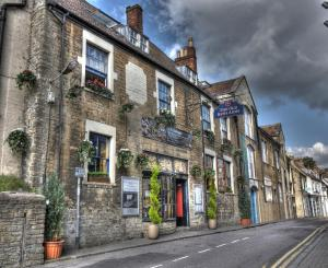 The Old Bath Arms Hotel in Frome, Somerset, England