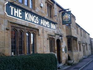 The Kings Arms Inn in Yeovil, Somerset, England
