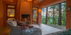 Chalet with Spa Bath, View and Chaise